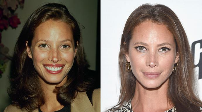 <strong>Christy Turlington </strong> <br><br>A veritable unicorn when it comes to ageless beauty, the 46-year-old supermodel proved age really is just a number when she returned as the face of Calvin Klein Underwear two decades after her original shoot – looking barely a day older. <br><br>The avid runner swears by yoga, whole foods and face oils as her key to that everlasting glow.