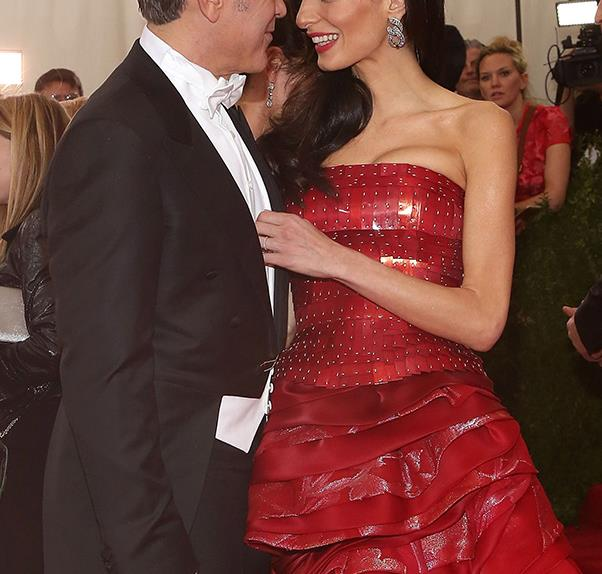 George Clooney Gushes Over Amal