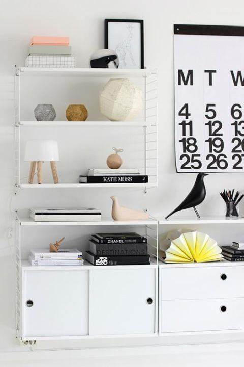<strong>GRAPHIC CALENDARS</strong> <br><br>The best benefit of these supersized Helvetica calendars? You'll always know the date. Why are we all sticking to our itty-bitty calendars when we could have this hanging on our wall? <br><br><strong>Photo credit</strong>: Nordic Leaves