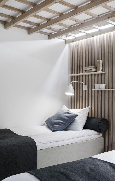 "<strong>SLATTED WALLS</strong> <br><br>There's something so serenely spa-like about slatted walls, like those at the <strong><a href=""http://go.redirectingat.com/?id=74968X1525079&site=harpersbazaar.com&xs=1&isjs=1&url=http%3A%2F%2Fnordicdesign.ca%2Fdream-hotel-finland-studio-puisto%2F&xguid=b758a018924f818bb1da76acdd51ba42&xuuid=a9130e925d409582e383bd6be491106a&xsessid=59cd1f88015131a714ec018166b9c899&xcreo=0&xed=0&sref=http%3A%2F%2Fwww.harpersbazaar.com%2Fculture%2Finteriors-entertaining%2Fg5686%2Fscandinavian-trends%2F%3Fslide%3D10&xtz=-600"">Finnish Dream Hotel<</a>/strong>: Like you're hiding away in a cabin or about to spend the most relaxing hour in the sauna. <br><br><strong>Photo credit</strong>: Patrik Rastenberger"