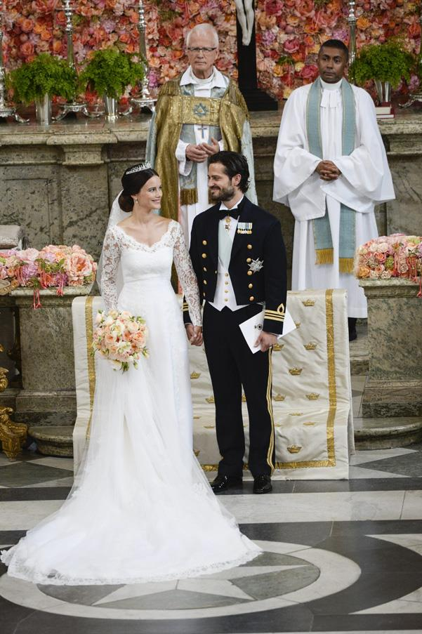 June, 2015: <br><br>Prince Carl Philip of Sweden and his wife Princess Sofia of Sweden.