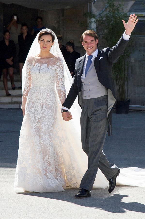 September, 2013: <br><br> Princess Claire Of Luxembourg and Prince Felix Of Luxembourg.