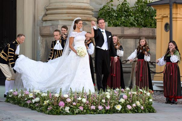June, 2013: <br><br> Princess Madeleine of Sweden and Christopher O'Neill.