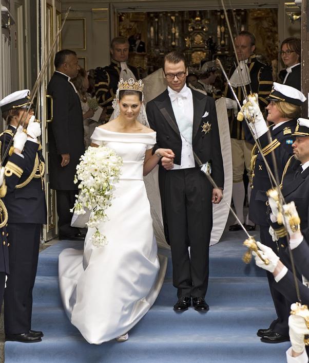 June, 2010: <br><br> Crown Princess Victoria of Sweden and Prince Daniel of Sweden