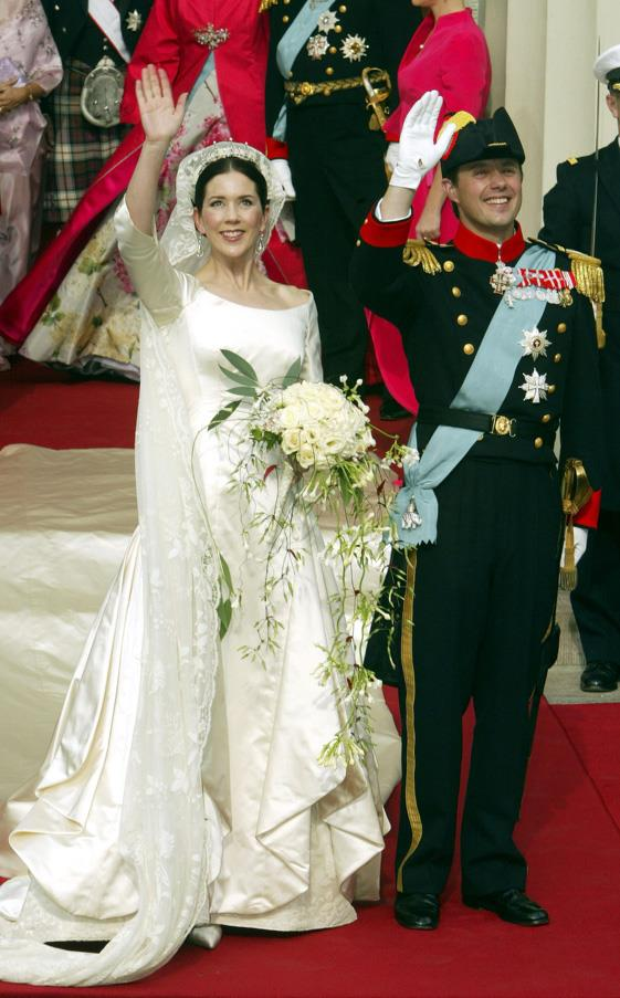 May, 2004: <br><br> Crown Prince Frederik and Crown Princess Mary