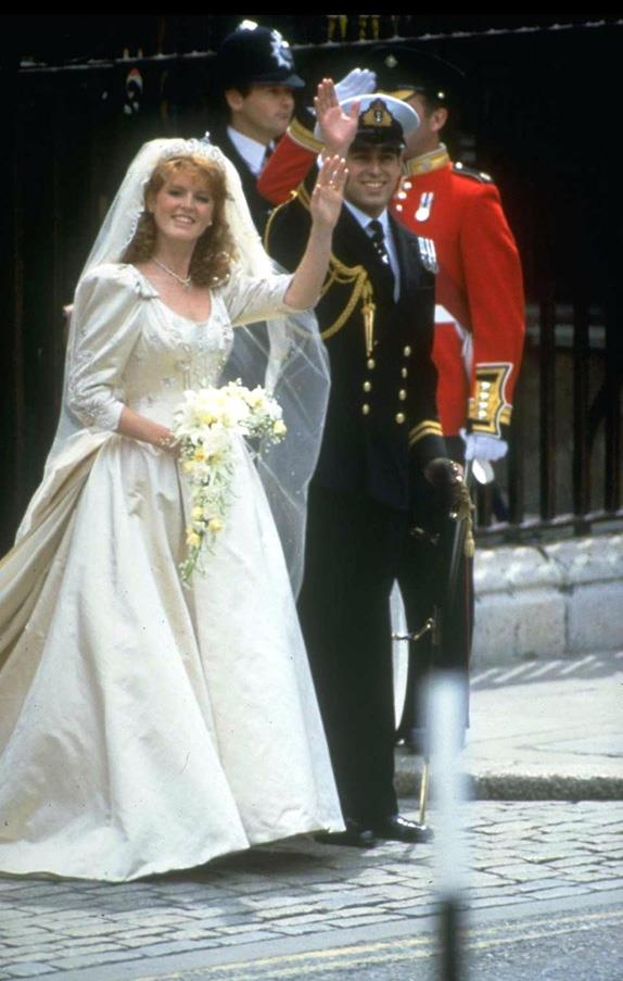 July, 1986: <br><br> Prince Andrew, the Duke of York, and Sarah Ferguson