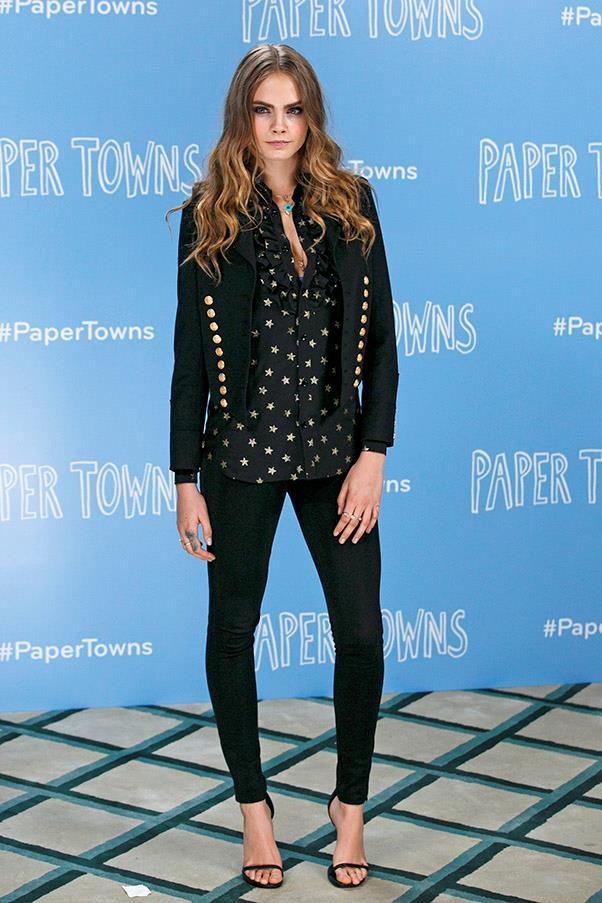 June 2015. <em>Paper Towns</em> photocall, London.