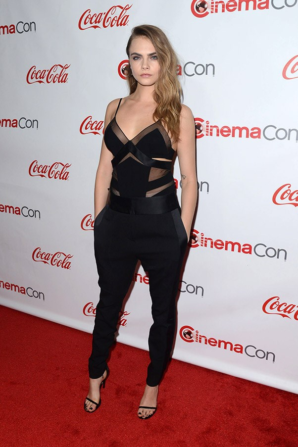 April 2015. The CinemaCon Big Screen Achievement Awards, Las Vegas.