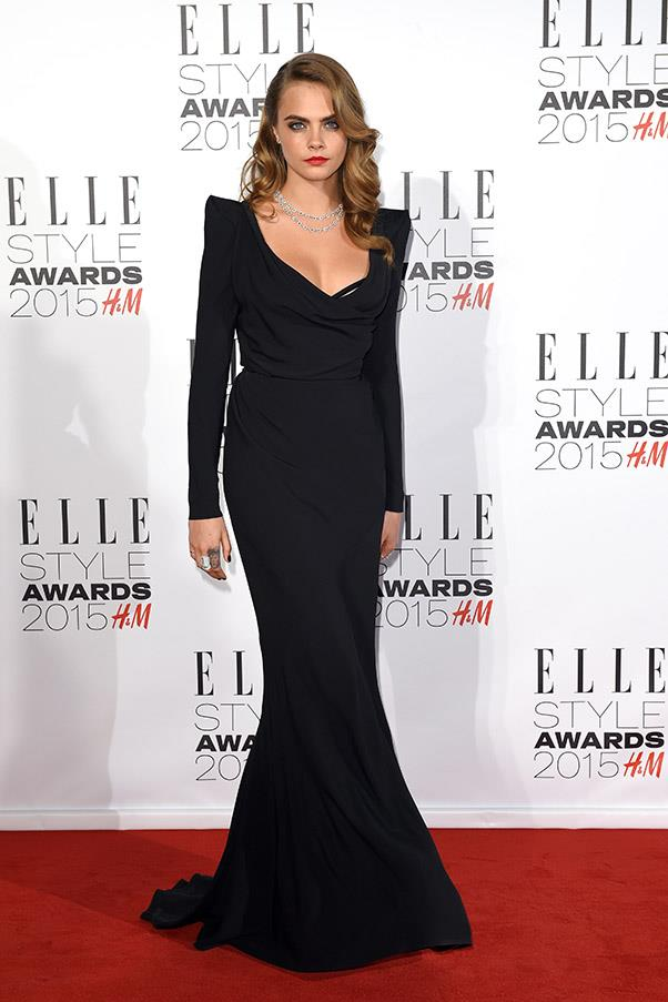 February 2015. Elle Style Awards, London.