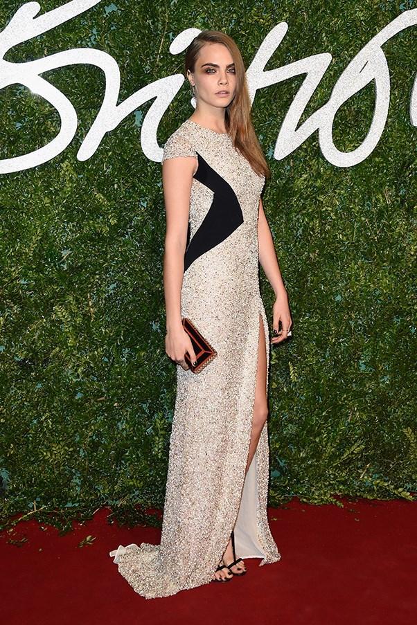 December 2014. British Fashion Awards, London.