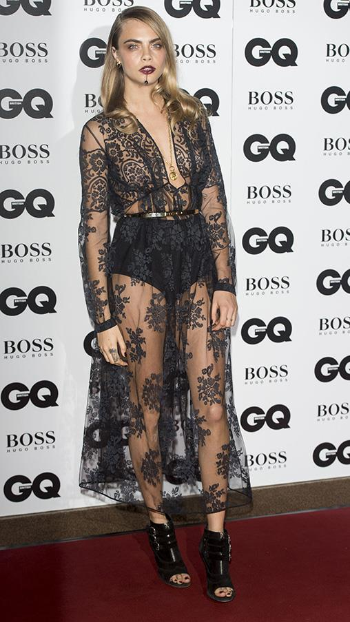 September 2014. GQ Men of the Year Awards, London.