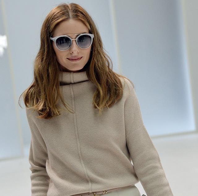 Olivia Palermo championed the trend throughout the autumn/winter fashion month.