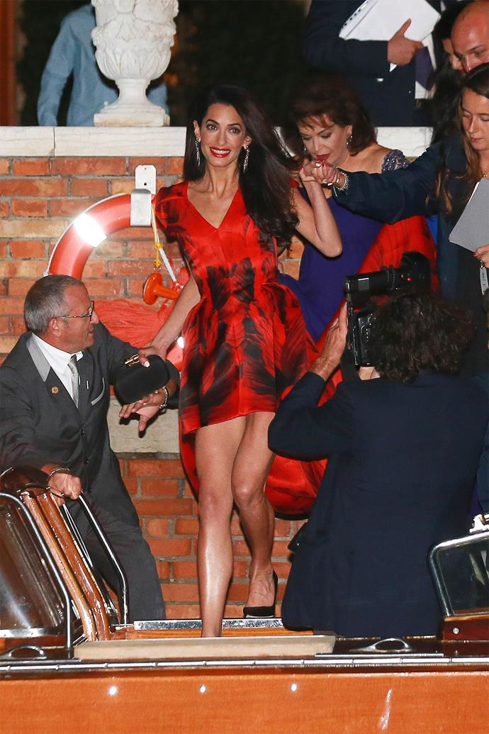 <strong>What:</strong> Alexander McQueen <strong>When:</strong> September 26, 2014 <strong>Where: </strong>The Belmond Cipriani Hotel, Venice