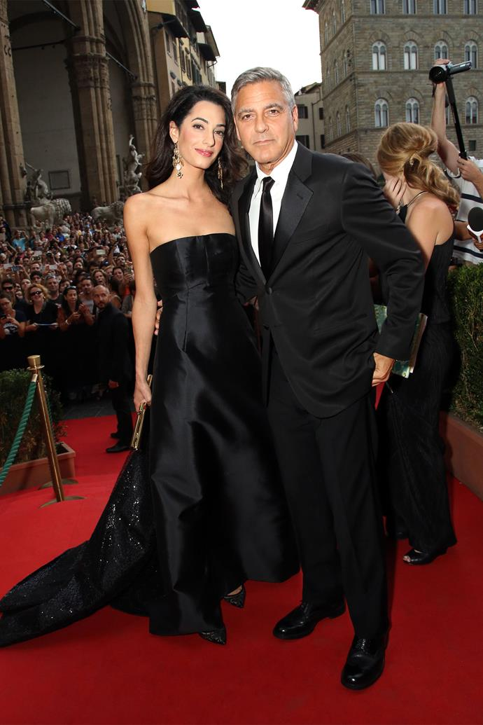 <strong>What: </strong>Dolce & Gabanna <strong>When: </strong>September 7, 2014 <strong>Where: </strong>Celebrity Fight Night, Florence