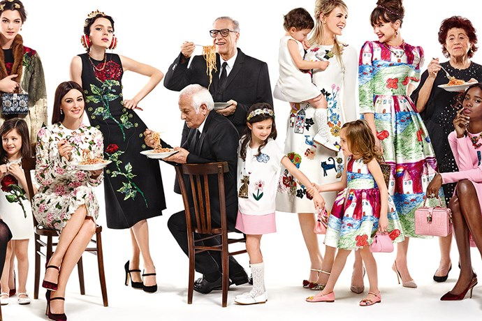 <strong>What: Dolce & Gabbana <br>Who: </strong>Ashleigh Good, Monica Belluci and more.