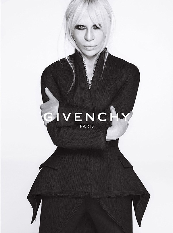 <strong>What: Givenchy <br>Who: </strong>Donatella Versace.