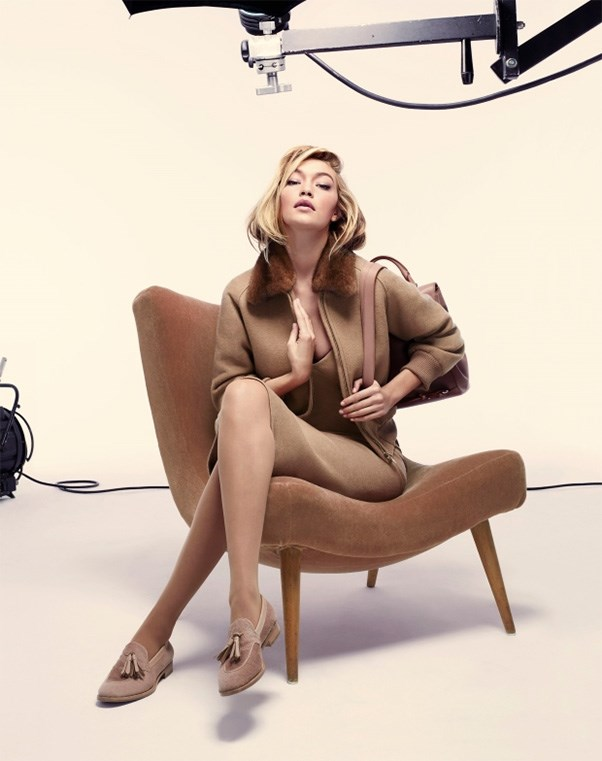 <strong>What: MaxMara <br>Who: </strong>Model-of-the-moment Gigi Hadid was tapped for MaxMara's latest campaign.