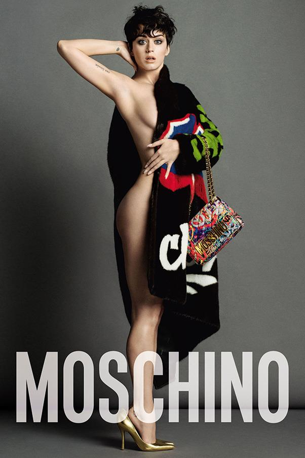 <strong>What: Moschino <br>Who: </strong>Moschino recruits some star power for its new campaign, with Inez & Vinoodh shooting Katy Perry for its autumn/winter 2015 ad.