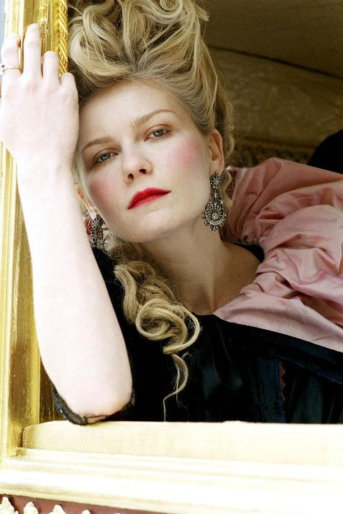 <strong>Marie Antoinette </strong> <br>Kirsten Dunst played up the Queen of France's love of luxury, makeup and major hair in Sofia Coppola's modern retelling.
