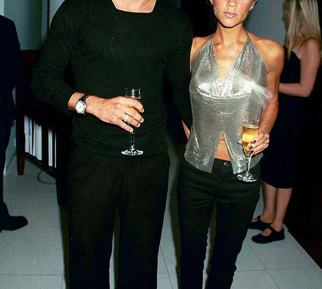 Victoria and David Beckham's style through the ages