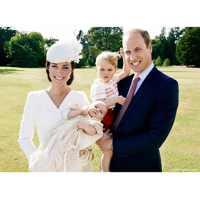 princess charlotte official christening photos