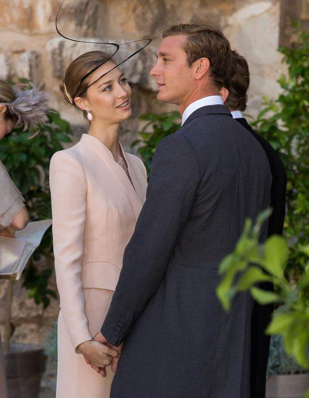 Beatrice Borromeo and Pierre Casiraghi attend the wedding of Prince Felix of Luxembourg and Claire Lademacher in France back in 2013.