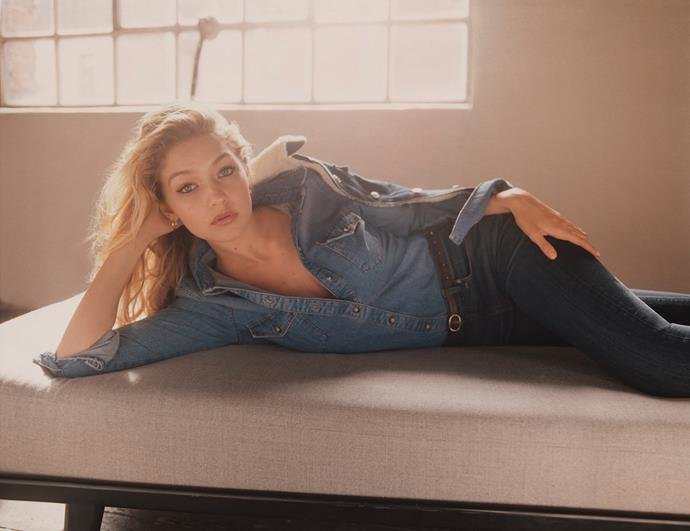 <strong>Topshop: </strong> <br><br> <strong>Model:</strong> Gigi Hadid <br><br> <strong>Photographer:</strong> Tyrone Lebon