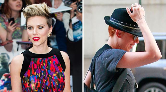 <strong>Scarlett Johansson </strong><br>The actress has been red before so we know she can pull it off. With a pixie, it's even edgier.