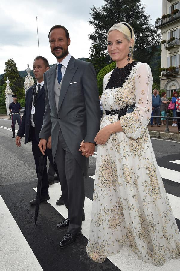 Haakon, Crown Prince of Norway and Mette-Marit Tjessem Høiby, Crown Princess of Norway.