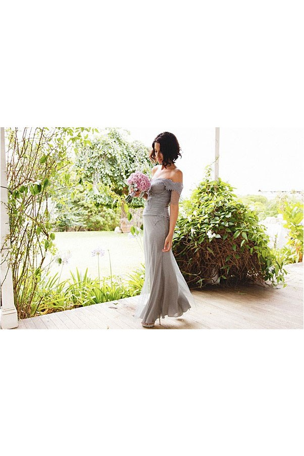 "<a href=""http://www.harpersbazaar.com.au/bazaar-brides/real-brides/2012/4/real-weddings-yasmin-sewell/"">Yasmin Sewell</a>, fashion consultant and être cécile co-founder, wore a design by Michael Herz at Bally."