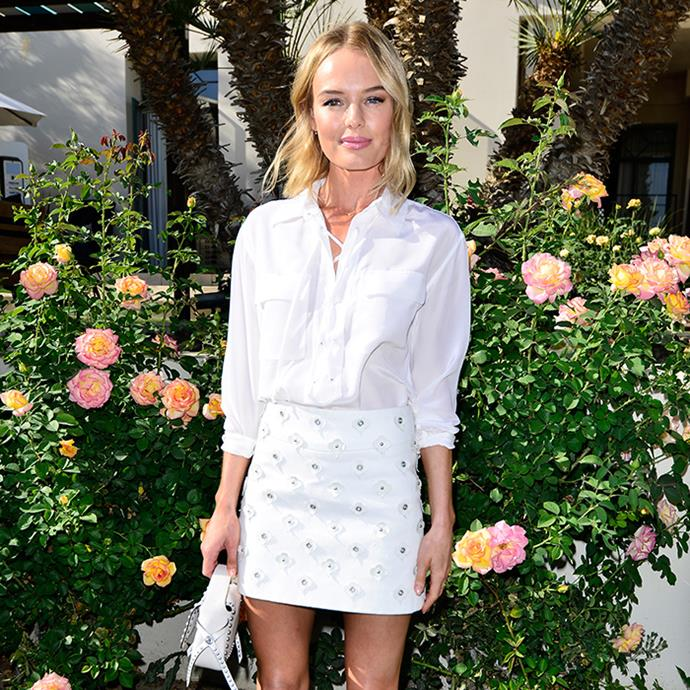 Kate Bosworth championed the trend at Coachella earlier this year.