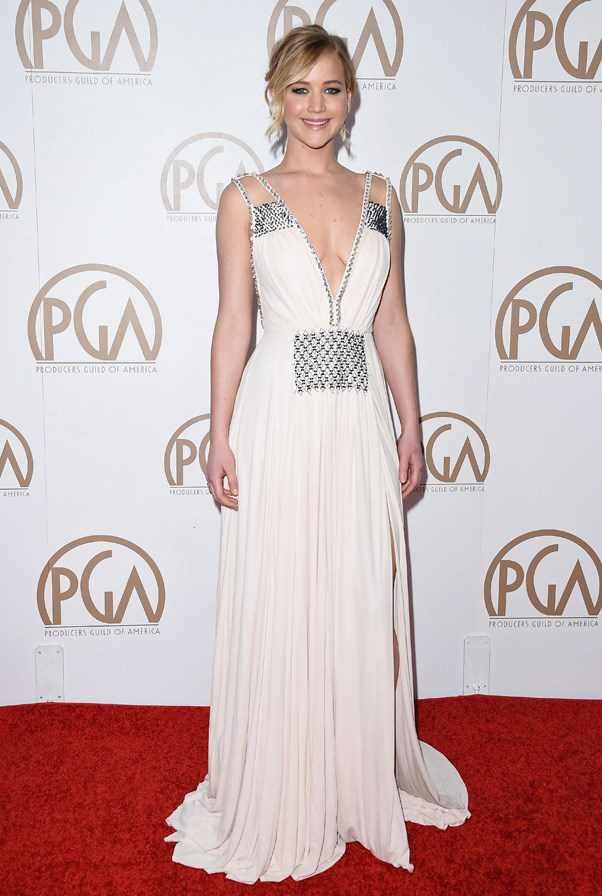 At the 26th Annual PGA Awards, Los Angeles, January 2015.