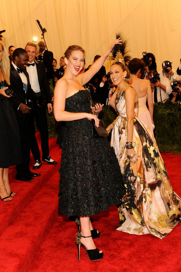 At the Met Gala, New York City, May 2013.