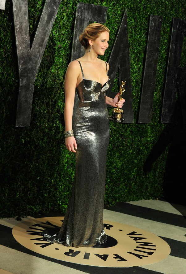 At the Vanity Fair Oscar Party, Hollywood, February 2013.
