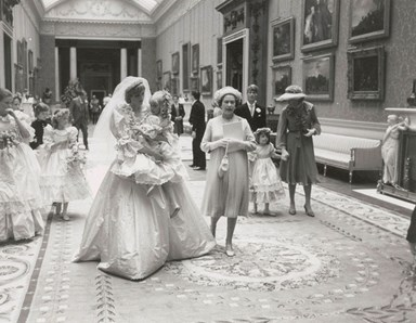 Never Before Seen Pictures of Charles and Diana's Wedding Released