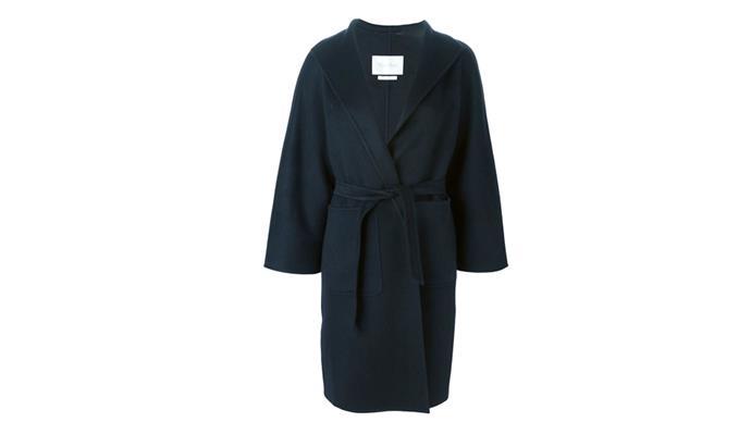 """<b>Karla Clarke, fashion editor: </b> <br><br> <em>Oversized black or grey cashmere coat ideally Max Mara if anyone would like to buy one for me.</em> <br><br> Max Mara cashmere coat, $5792, from <a href=""""http://www.farfetch.com/au/shopping/women/max-mara-belted-coat-item-11080651.aspx?storeid=9306&ffref=lp_1_4_"""">Far Fetch.</a>"""