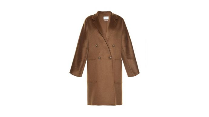 """<b>Hannah McLennan, Bookings editor: </b> <br><br> <em>Max Mara coat. I bought it three winters ago and it is still my most reached for coat in my wardrobe</em> <br><br> Max Mara coat, $3640, from <a href=""""http://www.matchesfashion.com/au/products/Max-Mara-Rail-coat-1016097"""">Matches Fashion</a>"""