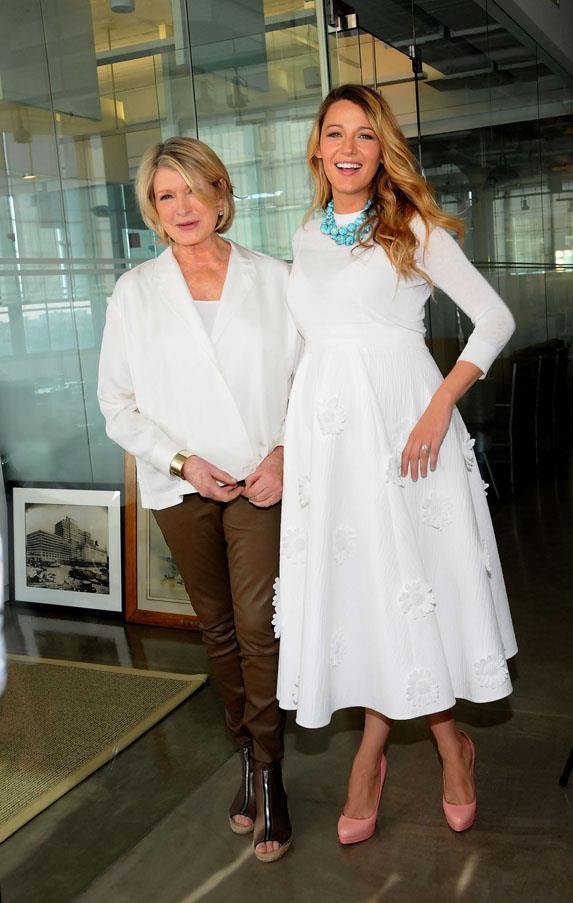In Michael Kors, Martha Stewarts' American Made Summit.