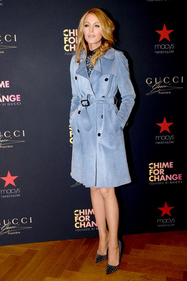 In Gucci, Gucci 'Chime for Change' launch.