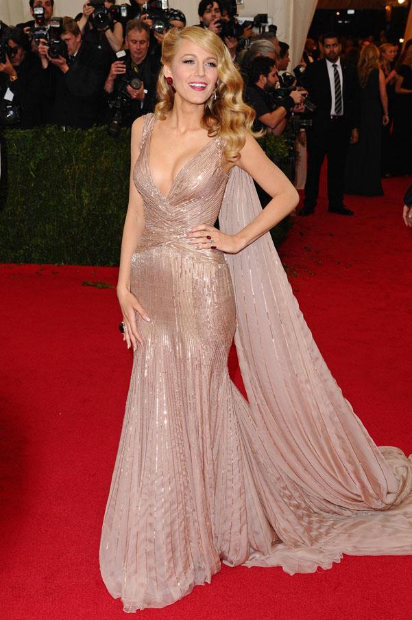 In Gucci, 'Charles James: Beyond Fashion' Met Gala.