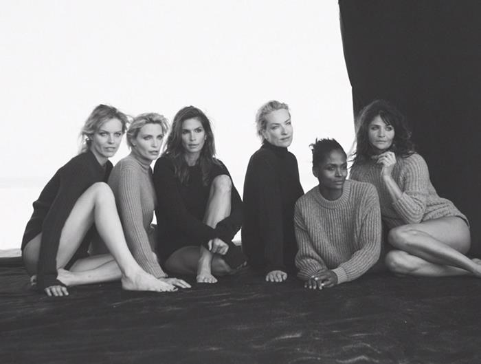 Peter Lindbergh Reunites 6 Iconic '90s Supermodels in New Fashion Film