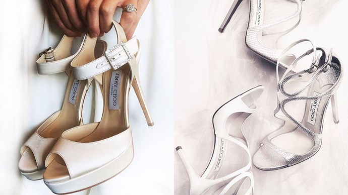 """<strong>The Shoes: </strong><a href=""""https://instagram.com/jimmychoo/""""><em>@jimmychoo</em></a><br><br> Cult shoes are cult shoes for a reason, no?"""