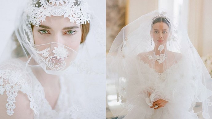 """<strong>The Photography:</strong> <a href=""""https://instagram.com/elizabethmessina/""""><em>@elizabethmessina </em></a><br><br> Weddings that look like high-end fashion campaigns? Tick and tick."""