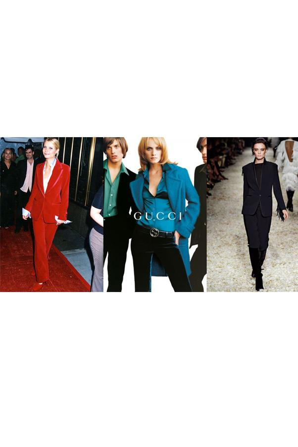 <strong>The answer should always be yes</strong> <br> To whether or not you're wearing velvet. From his early collections at Gucci (including a red suit worn by Gwyneth Paltrow) to his most recent Fall runway, the ultra-luxe fabrication is a go-to for Ford.