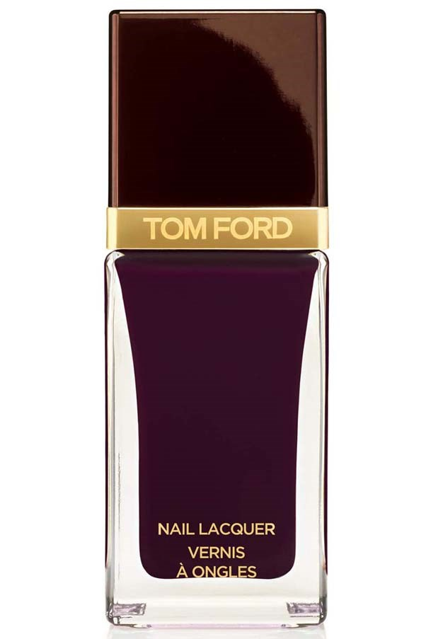 <strong>Go for the vamp </strong><br> Ford launched beauty and quickly changed the game, making deep, dark berry hues a mainstay on fashionable nails everywhere