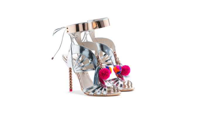 """<strong>Shannon Thomas, <a href=""""http://www.desordrestore.com/"""">Désodre Boutique:</a> </strong> <br><br> """"The new Sophia Webster Yasmin shoe, in silver. I launched pre-order and they sold out within one week. <br> The London fashion week presentation consisted of a killer shot on the foot. The Instagram world went crazy, and I couldn't add anymore to the order. Girls are still calling and emailing daily to track them down."""" <br><br> Sophia Webster shoe in black, $1290, from <a href=""""http://www.desordrestore.com/femme/buy-now/by-designer/sophiawebster/yasmina-pom-pom-black"""">Desodre </a>"""