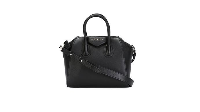 """<strong>Hiromi Yu, <a href=""""http://www.marais.com.au/"""">Marais</a>: </strong> <br><br> """"The Givenchy Antigona bag in black. <br><br> Whether it be the mini, small or medium size, this an item where luxury is easy to carry. Customers are not only waitlisted for this product, but they also regularly make time to check with the store to see if  there are any available in-store too."""" <br><br> Stockist: (03) 8658 9555"""
