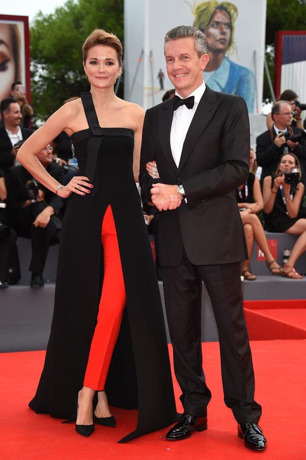Nadezhda Mikhalkova and Jaeger-LeCoultre CEO Daniel Riedo