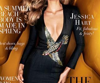 Jess Hart Harper's BAZAAR Australia October Cover
