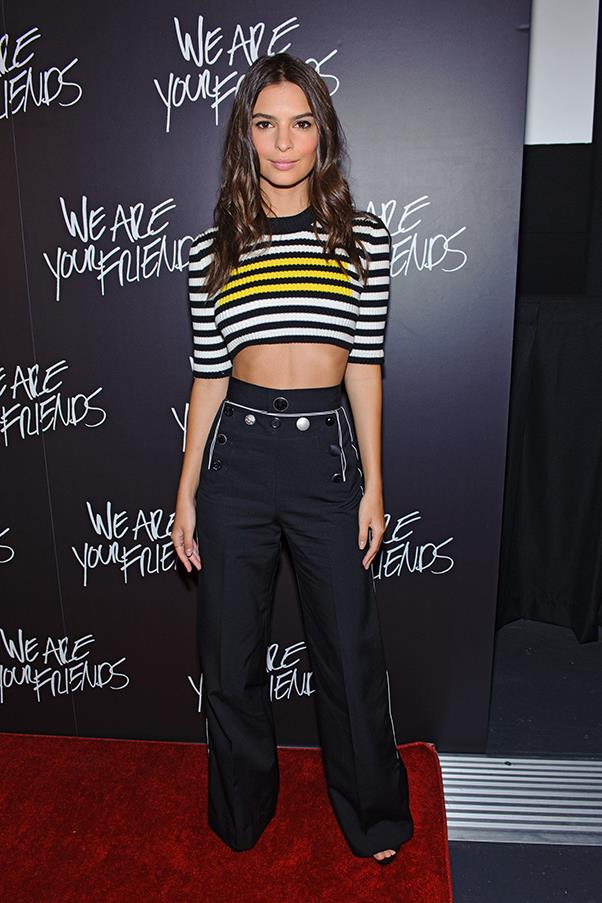 In Marc Jacobs at <em>We Are Your Friends</em> Chicago premiere.